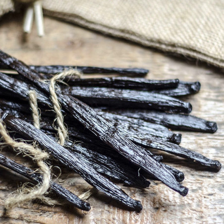 10 Gousses de Vanille d'Ouganda - Grand Cru