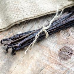 Dry Tahitensis Vanilla beans - Papua New Guinea