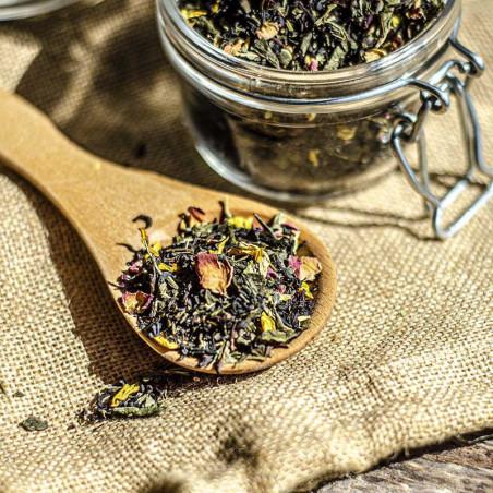 Thé Noir, Vert - Érotique