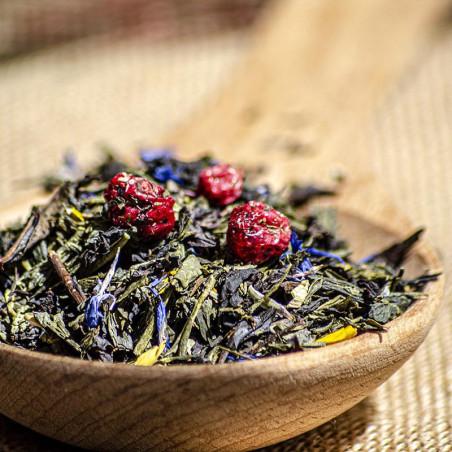 Sencha Green, Oolong Tea -...